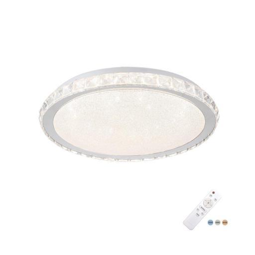 Plafón Led Cromo 40 cms Boston [0]