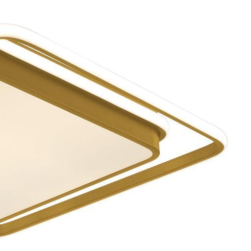 Plafón Led Oro 50 cm Kansas Cuadrado [2]