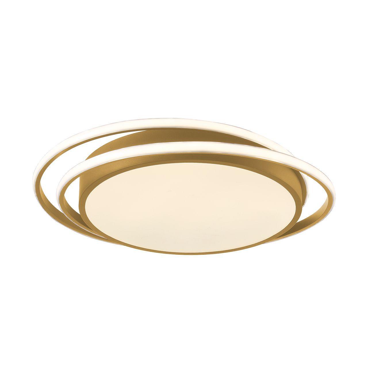 Plafón Led Oro 50 cm Kansas Circular