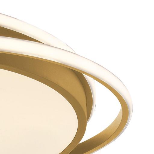 Plafón Led Oro 50 cm Kansas Circular [2]