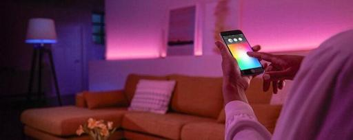 Iluminación controlada APP, Alexa, Google Home