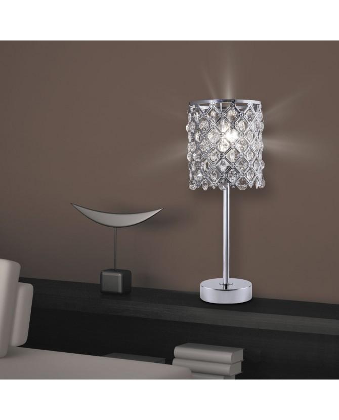 Lámpara Sobremesa Frate Cromo