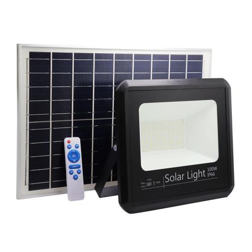 Proyector Solar Malaquita 100w