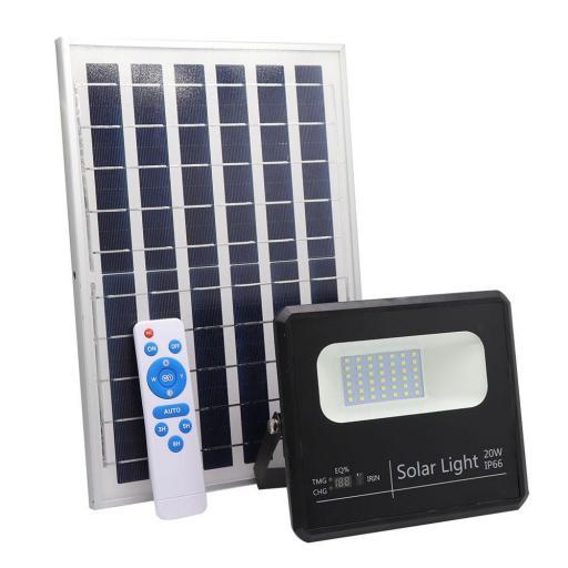 Proyector Solar Malaquita 20w