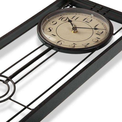 Reloj Rectangular de Pared [1]