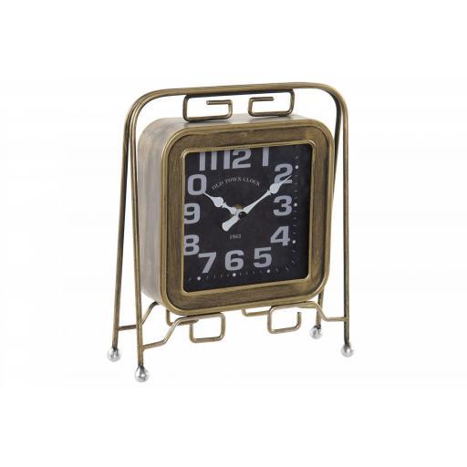 Reloj  Sobremesa Oro Viejo