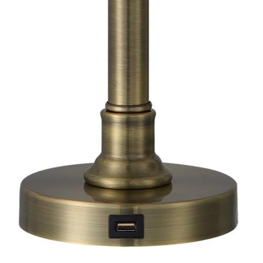 Sobremesa Big Ben Cuero con Puerto USB [2]