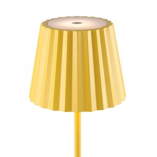 Sobremesa Exterior Recargable K2 Amarillo [2]