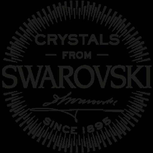 Pendientes Swarovski UNO rodio aqua [1]