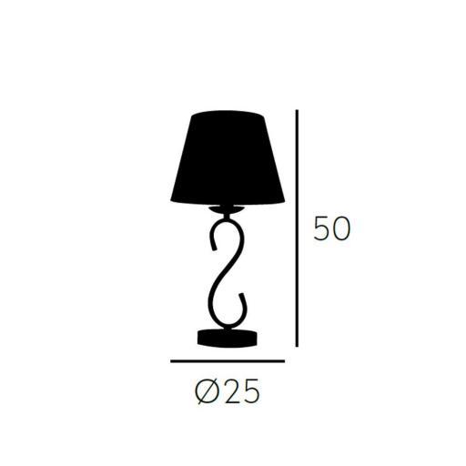 Lámpara de Sobremesa Tampico [3]