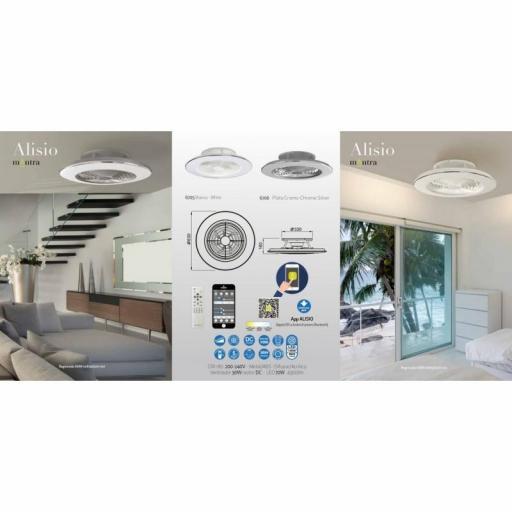 Ventilador Alisio Blanco [3]