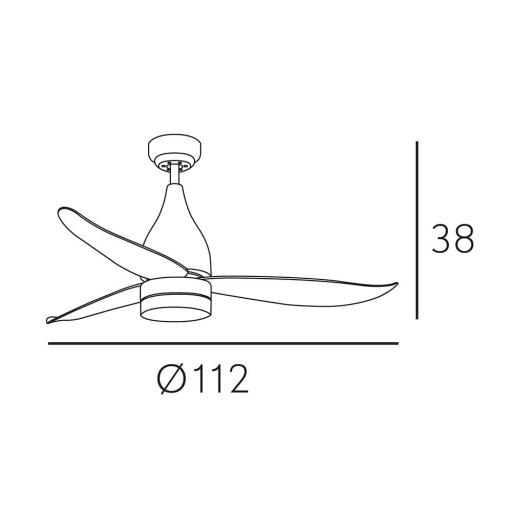 Ventilador Asifa Blanco [2]