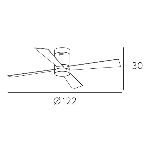 Ventilador Barine Marrón [3]