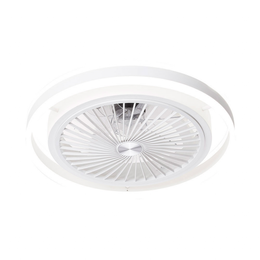 Ventilador Led 56 w Pampero Blanco