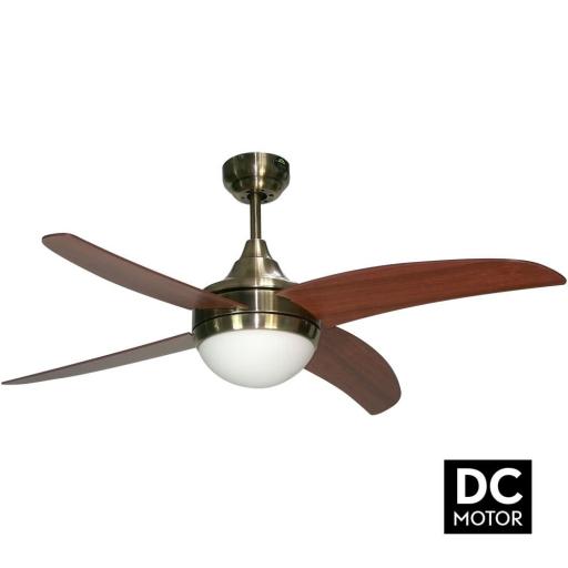 Ventilador Osiris Cuero Cerezo Motor DC [0]