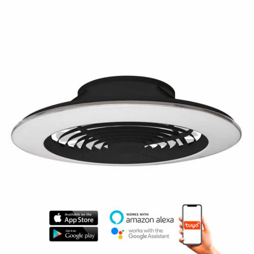 Ventilador Alisio XL Negro