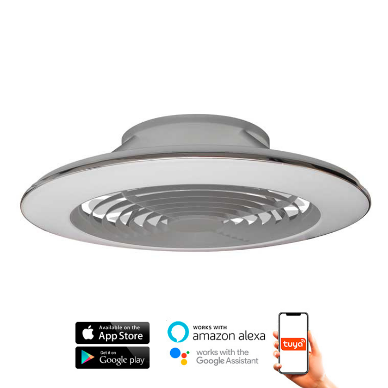 Ventilador Alisio XL Plata