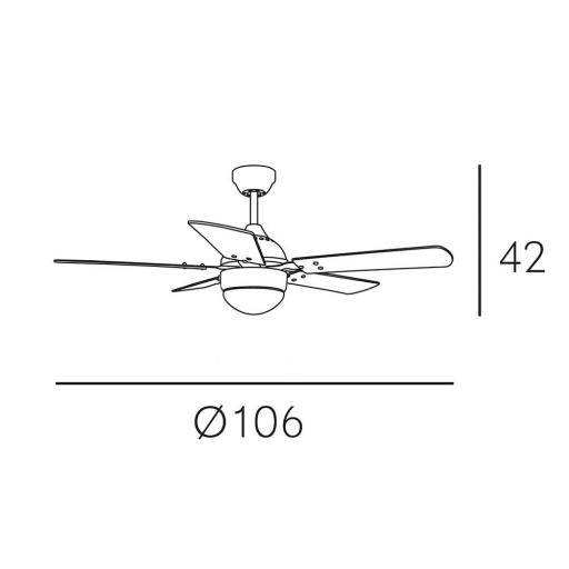 Ventilador Pontia Blanco [1]