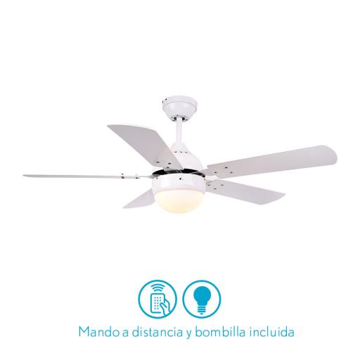 Ventilador Pontia Blanco