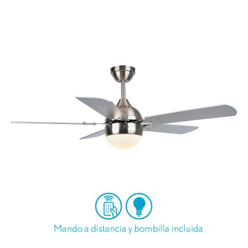 Ventilador Pontia Niquel [0]