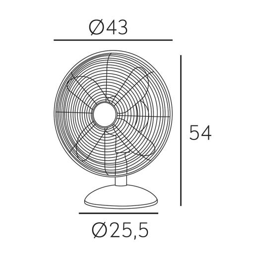 Ventilador Pali Cromo [1]