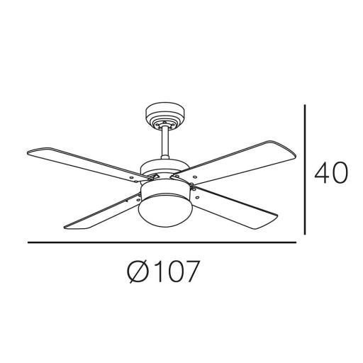 Ventilador Tramontana Cuero [1]