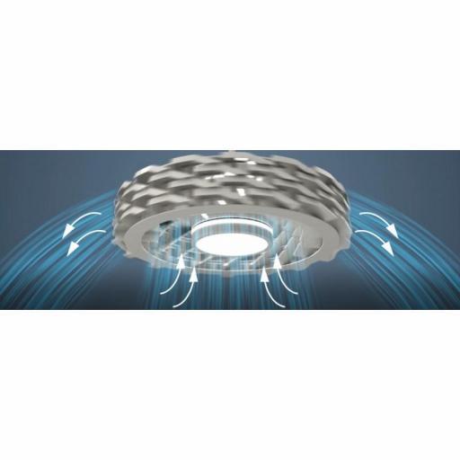 Ventilador Led Ness WIFI Blanco [3]