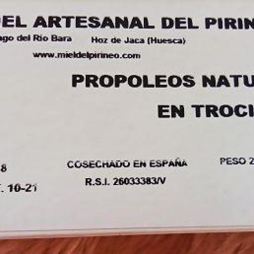 PROPÓLEO NATURAL MASTICABLE [3]