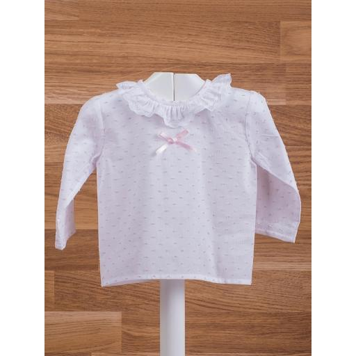 Chapona Plumeti Biccolor Blanco / Rosa