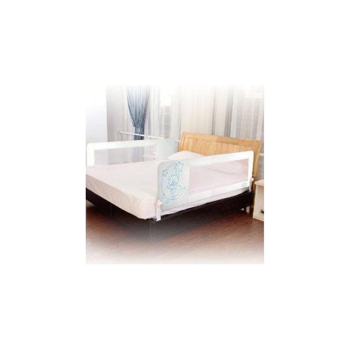 Baranda de cama Osito Celeste 1,50