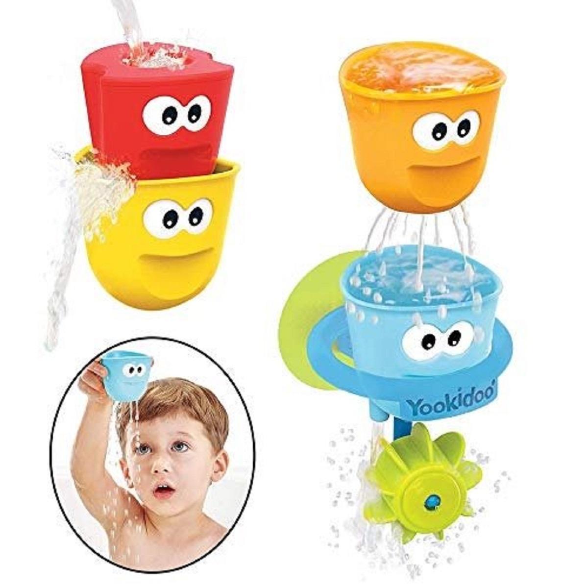 juego para baño Vasitos Efectos Divertidos