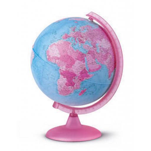 Esfera con luz Rosa desmontada Pink