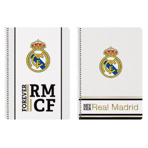 Libreta Real Madrid