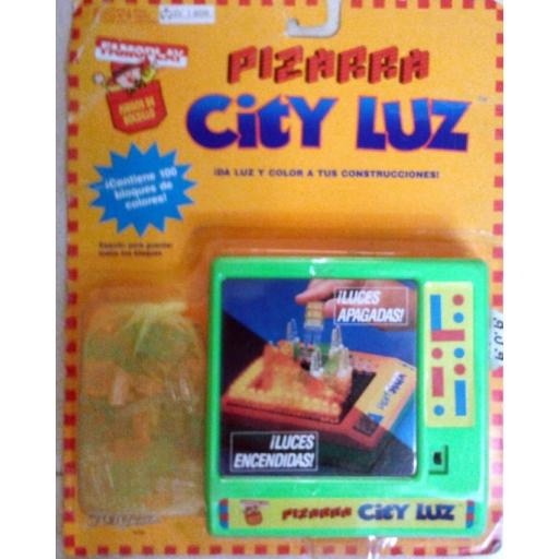 Pizarra City Luz