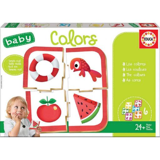 Puzzle Baby Colors 6  Puzzles
