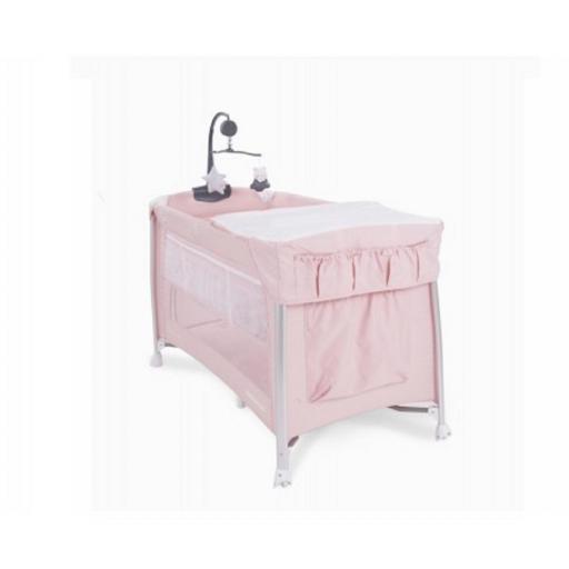 Cuna Parque Dessine moi Pink