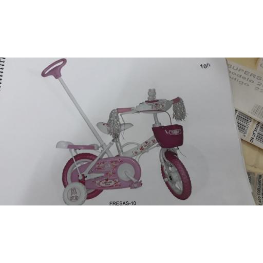 Bicicleta Fresas 10