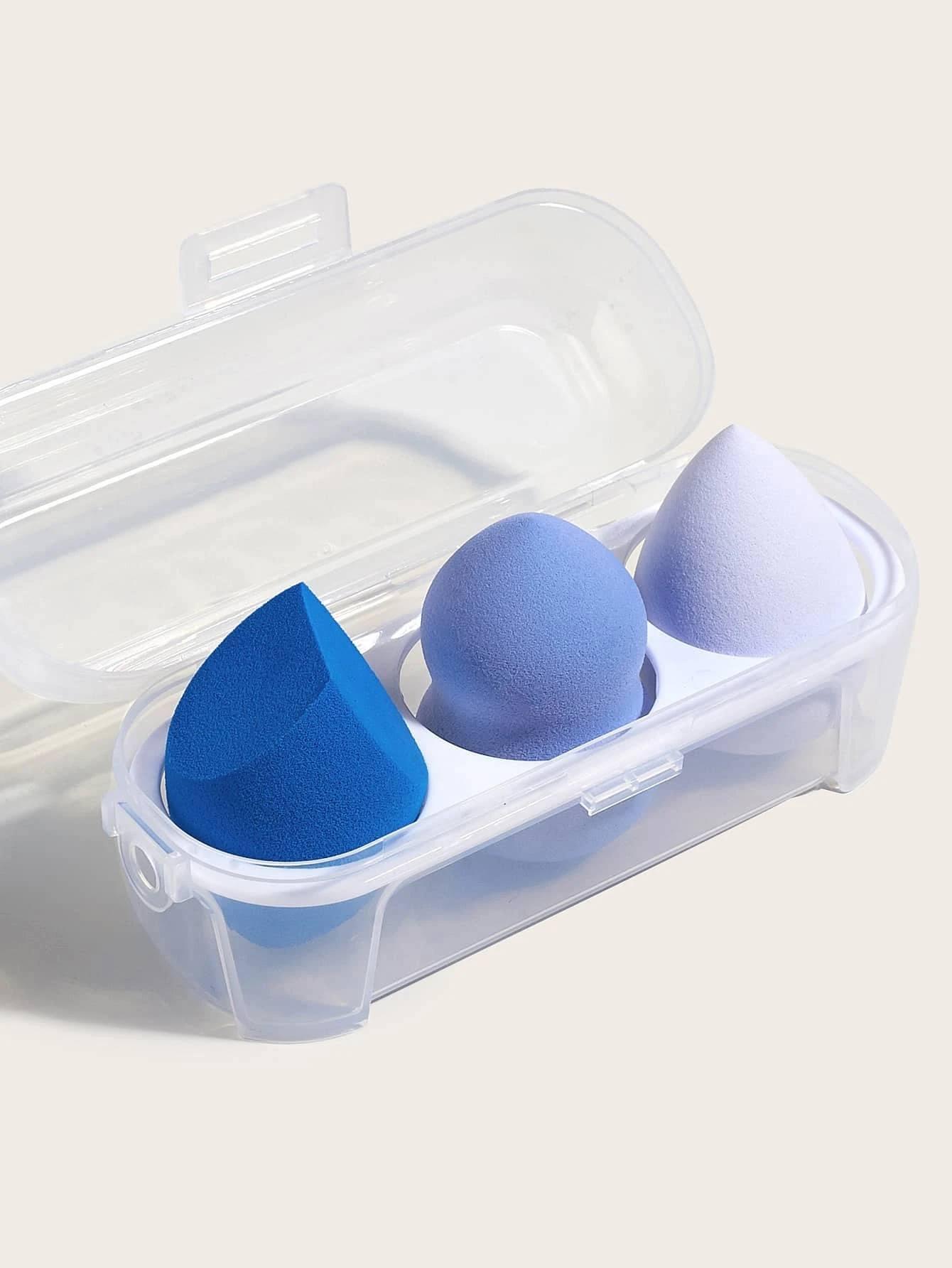3 piezas esponja de maquillaje