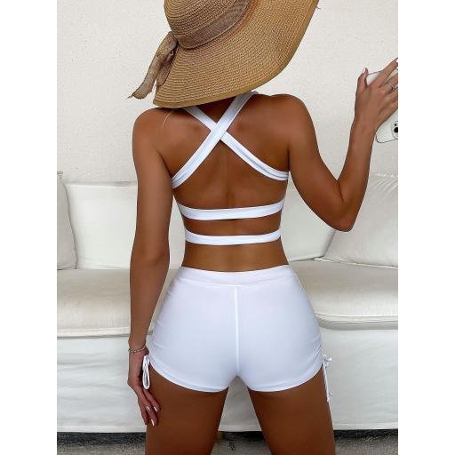 Bañador bikini con shorts