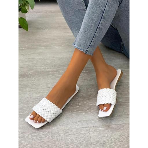 Sandalias Liso De moda [1]