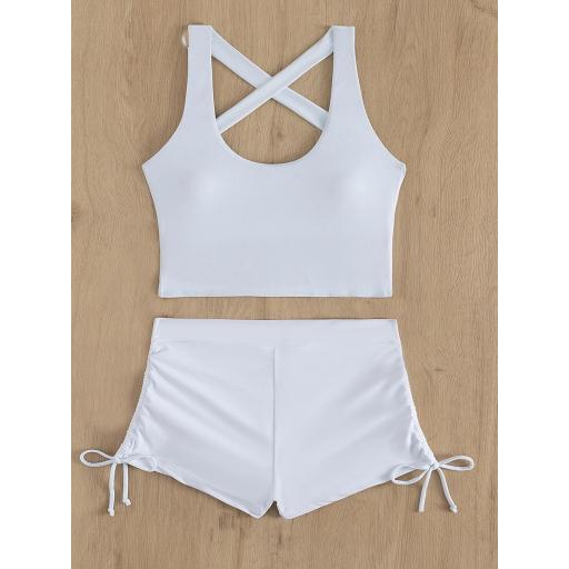Bañador bikini con shorts  [2]