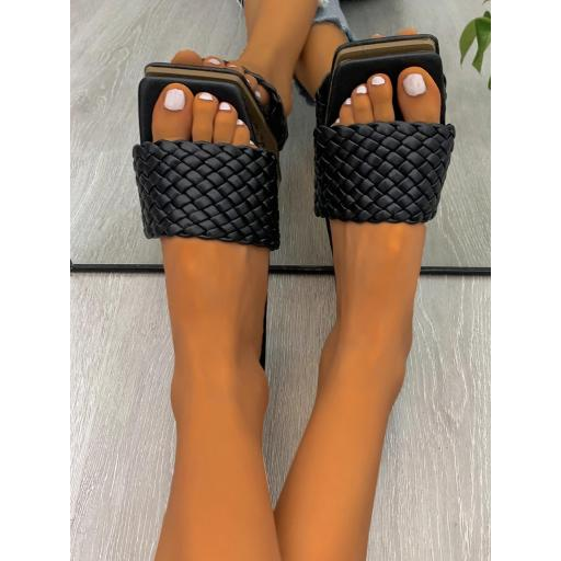 Sandalias Liso De moda [3]