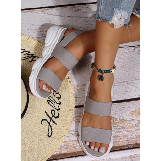 Sandalias minimalista cuña [2]