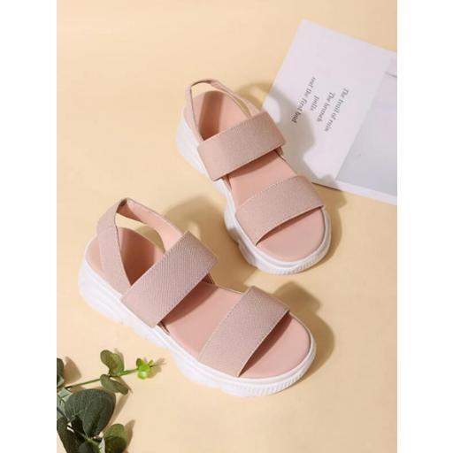 Sandalias minimalista cuña [1]