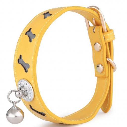 1 pieza collar reflexivo para gato con campana [2]