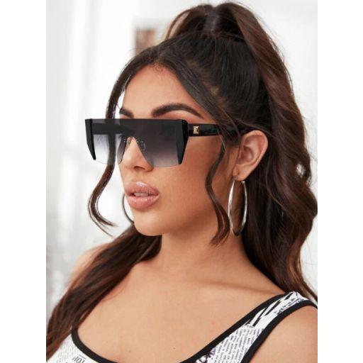 Gafas de sol de lentes gradientes arriba alta