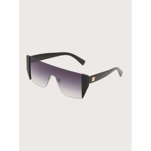 Gafas de sol de lentes gradientes arriba alta [1]