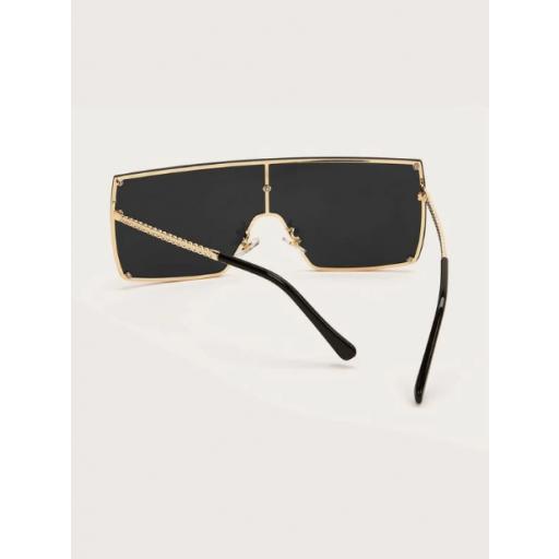 Gafas de sol arriba plana  [3]