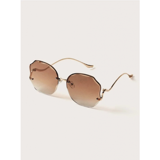 Gafas de sol sin montura simple [1]