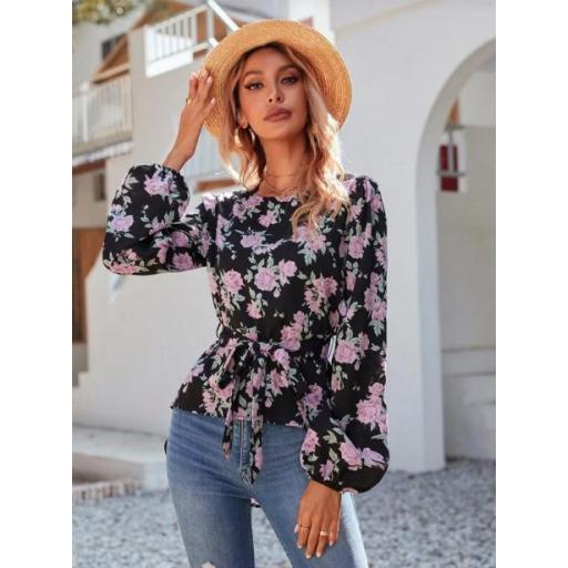 Blusas Cinta Floral Bohemio